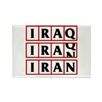 Iran 2009 Rectangle Magnet