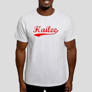 Vintage Hailee (Red) Light T-Shirt