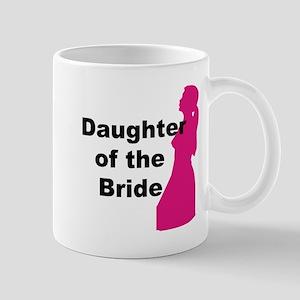 Silhouette Daughter of the Bride Mug