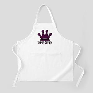 Wine Queen BBQ Apron