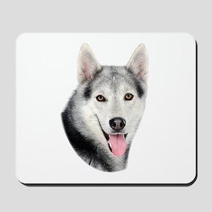 Siberian Huskie Picture Mousepad