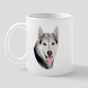 Siberian Huskie Picture Mug