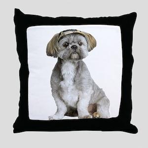 Shih Tzu Picture - Throw Pillow