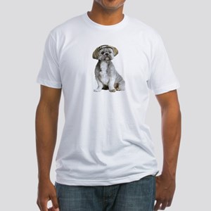 Shih Tzu Picture - Fitted T-Shirt