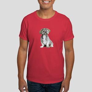 Shih Tzu Picture - Dark T-Shirt