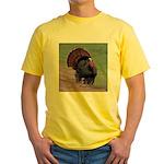 Strutting Tom Turkey Yellow T-Shirt