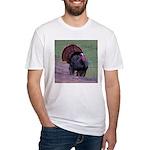 Strutting Tom Turkey Fitted T-Shirt