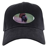 Strutting Tom Turkey Black Cap