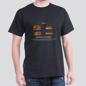 Abstract Factory Pattern Dark T-Shirt