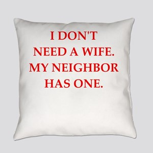 neighbor Everyday Pillow