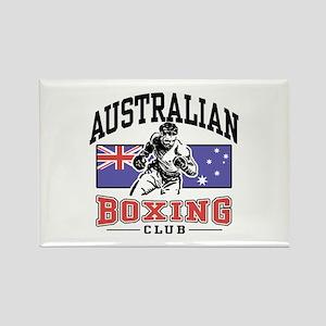 Australian Boxing Rectangle Magnet