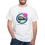 Dolphin Niecey White T-Shirt