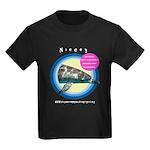 Dolphin Niecey Kids Dark T-Shirt