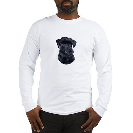 Schnauzer Picture - Long Sleeve T-Shirt