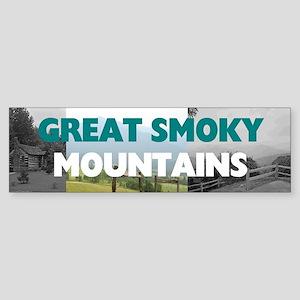 Smoky Mountains Americasbesthisto Sticker (Bumper)