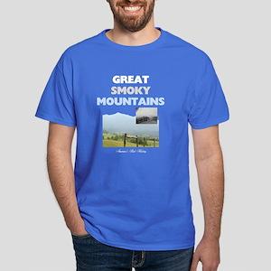 Smoky Mountains Americasbesthistory.c Dark T-Shirt
