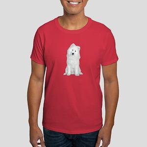 Samoyed Picture - Dark T-Shirt