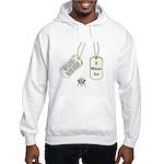 Masons Dog Tag Poem Hooded Sweatshirt