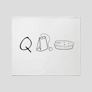 Cutie Pie Throw Blanket