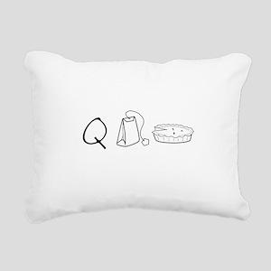 Cutie Pie Rectangular Canvas Pillow