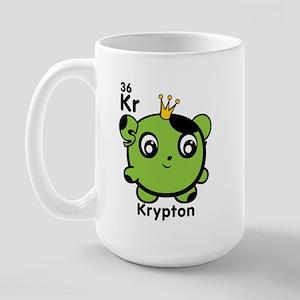Cute Element Krypton Large Mug
