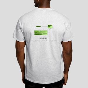 Memento Pattern 2 Sided Light T-Shirt
