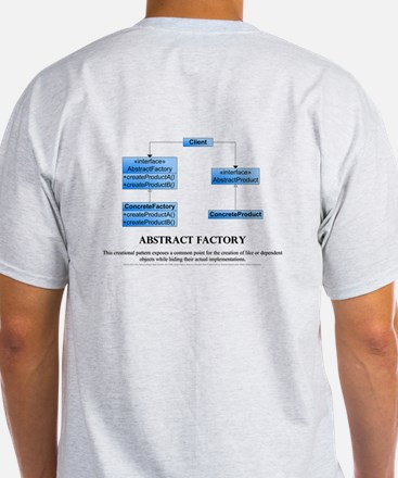 Abstract Factory Pattern 2 Sided T-Shirt