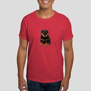 Rottweiler Picture - Dark T-Shirt