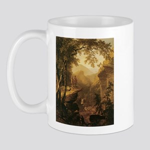 Kindred Spirits by Durand 1800s Mug