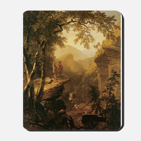Kindred Spirits by Durand 1800s Mousepad