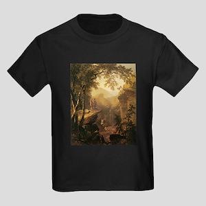 Kindred Spirits by Durand 1800s Kids Dark T-Shirt
