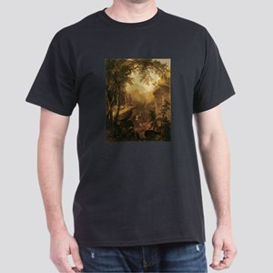 Kindred Spirits by Durand 1800s Dark T-Shirt