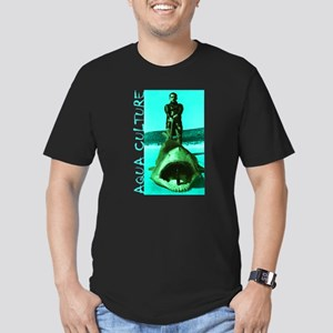 Aqua Culture on Beach with Shar T-Shirt