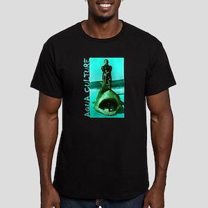 Aqua Culture on Beach with Shar T-Shirt