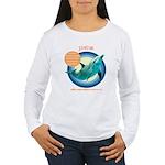 Dolphin Stefran Women's Long Sleeve T-Shirt