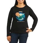 Dolphin Stefran Women's Long Sleeve Dark T-Shirt