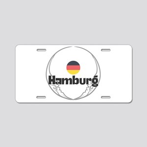 Hamburg Aluminum License Plate