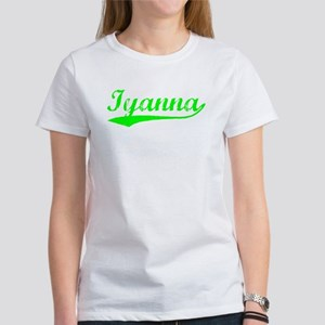 Vintage Iyanna (Green) Women's T-Shirt