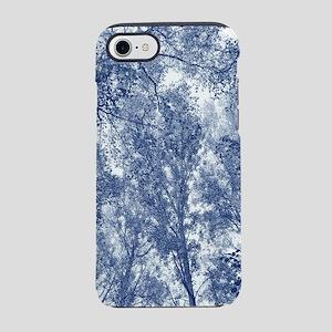 Blue Autumn - Cyanotype Effe iPhone 8/7 Tough Case
