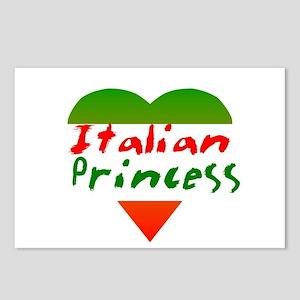Italian Princess Postcards (Package of 8)