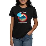Dolphin Swoosh Women's Dark T-Shirt