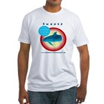 Dolphin Swoosh Fitted T-Shirt