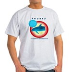 Dolphin Swoosh Light T-Shirt