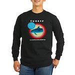 Dolphin Swoosh Long Sleeve Dark T-Shirt