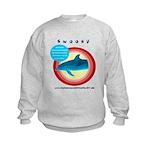 Dolphin Swoosh Kids Sweatshirt