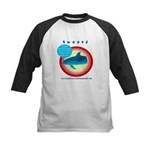 Dolphin Swoosh Kids Baseball Jersey