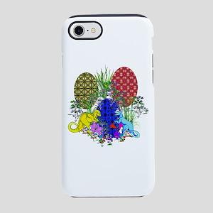Dinosaur Easter Eggs iPhone 8/7 Tough Case