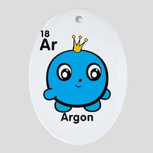 Cute Element Argon Oval Ornament