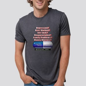 Depressed? Job Sucks? FUKITOL!!! T-Shirt