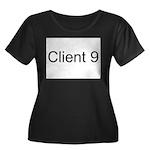 Client 9 Women's Plus Size Scoop Neck Dark T-Shirt